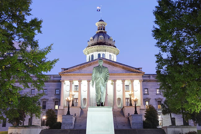 Columbia South Carolina State Capitol Building
