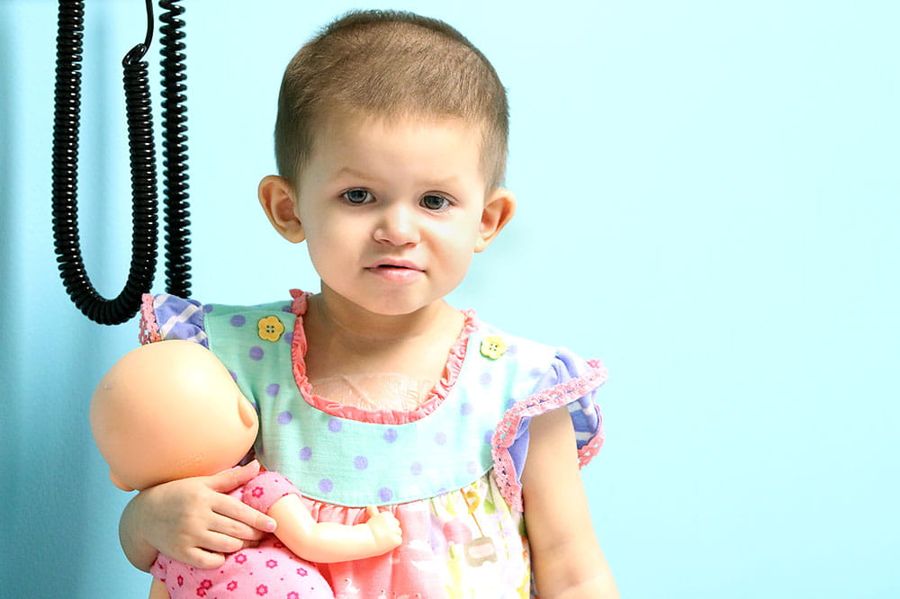 Neuroblastoma patient