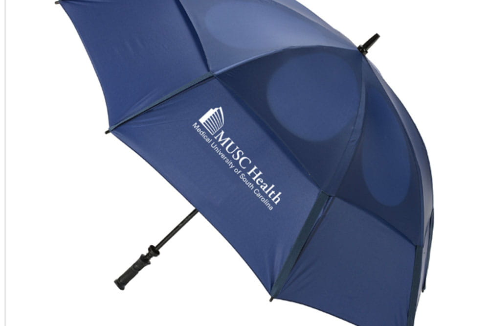 umbrella with MUSC Health logo